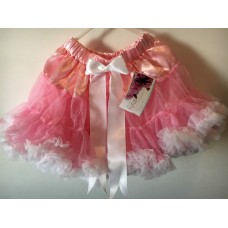 Tutu  Pettiskirt - Light Pink & White