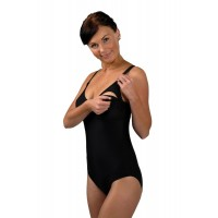Carriwell Nursing Swimsuit - Black