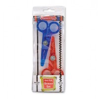 Child-Safe Craft Scissor Set (Two Pack)