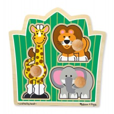 Jungle Friends Jumbo Knob Puzzle