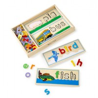 See & Spell Learning Puzzle