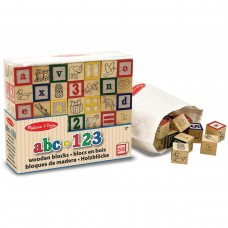 Wooden ABC / 123 Blocks