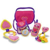 Pretty Purse Fill & Spill Soft Toy